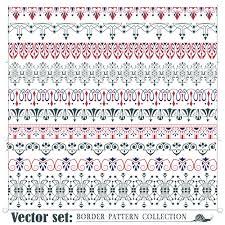 borders ornaments pattern vector set 01 vector frames borders