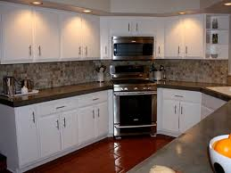 Popular Painted Kitchen Oak Cabinets My Home Design Journey - Painted wooden kitchen cabinets