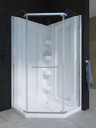 38 Neo Angle Shower Door Mirolin Sorrento 38 Inch Acrylic Neo Angle Shower Stall The Home