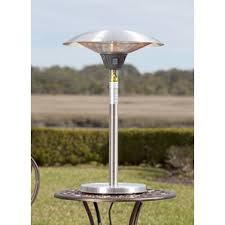 Patio Table Heaters Patio Heaters You U0027ll Love Wayfair
