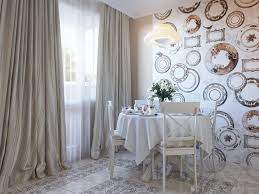 Wallpaper Accent Wall Dining Room Adding Modern Wallpaper To Your Home A Change Of Space