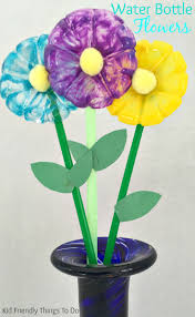 water bottle flowers craft for kids water bottle flowers flower