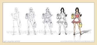 fashion illustrations showcase fashion illustrations by igor