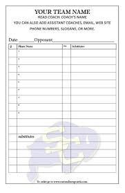 baseball roster template baseball scoresheet template 06 baseball
