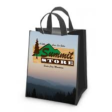 shopping bags with logo wholesale 18478