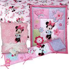 Minnie Crib Bedding Set Minnie Mouse 4 Pc Crib Set With Sheet Blanket Baby Bundle