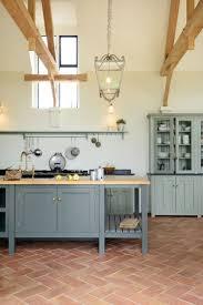 kitchen art design blue kitchen art design and best 25 terracotta floor ideas on