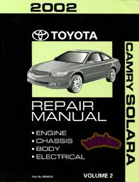 toyota camry shop service manuals at books4cars com