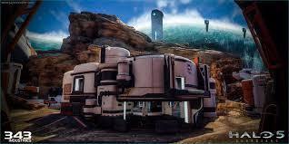 Warzone Maps Artstation Halo 5 Guardians Warzone Garage Exterior Jayson