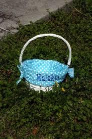 personalized wicker easter baskets personalized blue easter basket wicker easter basket blue
