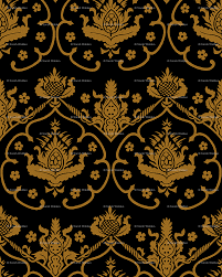 gothic damask cologne gold and black giftwrap gothic damask cologne gold and black giftwrap peacoquettedesigns spoonflower