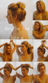 hair tutorials for medium hair top 25 messy hair bun tutorials perfect for those lazy mornings