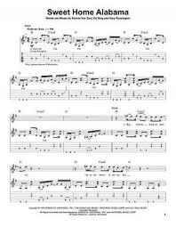 sweet home sheets sweet home alabama sheet music