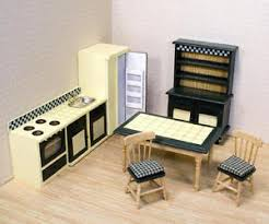 dolls house kitchen furniture and doug 2582 doll house kitchen furniture ebay