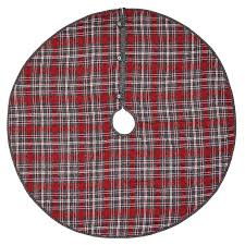 plaid tree skirt august grove chamblee plaid tree skirt reviews wayfair