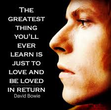 david bowie the greatest thing from nature boy quotes