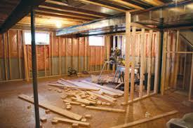 Inexpensive Unfinished Basement Ideas by A Cheap Finished Basement