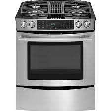 Slide In Gas Cooktop Slide In Gas Downdraft Range With Convection 30