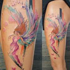 angel tattoo in middlesbrough cooltop watercolor tattoo angel tattoo check more at http