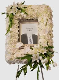 flowers for funeral funeral picture frame in venice fl venetian flowers