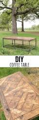 diy metal and wood coffee table coffee woods and woodworking