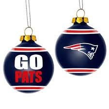 new patriots team slogan glass ornament 0 build my