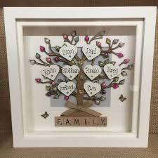 wedding gift wedding ideas family tree wedding gift personalised box frame