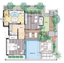 Grand Beach Resort Orlando Floor Plan by Koh Samui Honeymoon Villa Pool Villa Suite Melati Beach Resort
