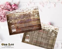 Mason Jar Bridal Shower Invitations Mason Jar Bridal Shower Invitation Rustic Bridal Shower