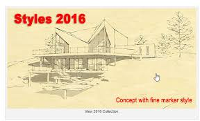 download google sketchup tutorial complete zip sketchup artists styles part 1 download free styles daniel tal