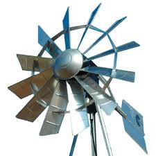 outdoor water solutions 72 in ornamental windmill head oms0018