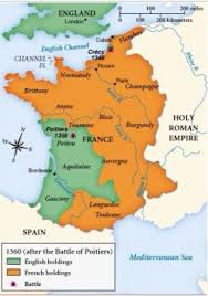 map of poitiers why didn t the overrun when the king was