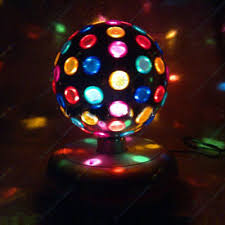 Party Lighting Dj Rotating Colour Disco Ball Light Party Lighting Effect For