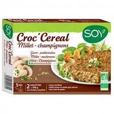 cuisiner le millet croc céréal boulgour millet chignons 2x100 g soy