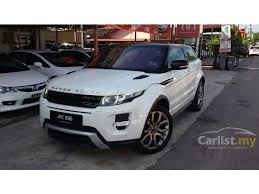 White Range Rover With Red Interior Land Rover Range Rover Evoque 2012 Si4 Dynamic Plus 2 0 In Johor