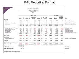 Restaurant Balance Sheet Template Profit And Loss Statement Template Excel 2007 1 Profit And Loss