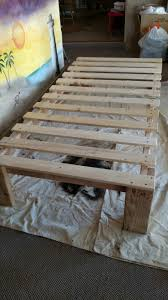 Making A Wooden Platform Bed by Cheap Easy Low Waste Platform Bed Plans Platform Beds