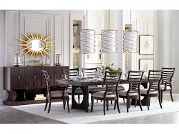 stanley furniture 696 11 36 dining room double pedestal dining table