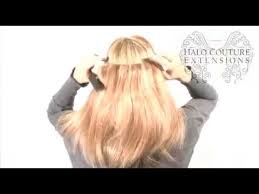 complete styling video halo couture extensions