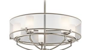 Kichler Lighting Chandelier Endearing Kichler Lighting Drum Shade Chandeliers Tags Glass
