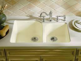 Undermount Cast Iron Kitchen Sink by Kohler Cast Iron Kitchen Sink