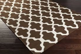 Brown And White Area Rug Creative Ideas Brown And White Rug Simple Decoration Rugs Designs