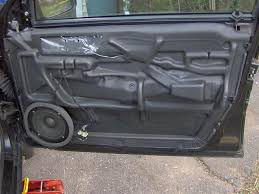 Sound Dening Interior Doors Soundproof Car Diy To Reduce Noise Vw Tdi Forum Audi Porsche