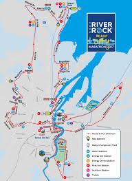 Map Run Route by Deep Riverrock Belfast City Marathon Route Belfast City Marathon