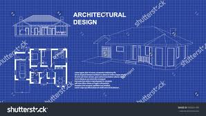 perspective 3d floor plan cross section stock vector 590401199