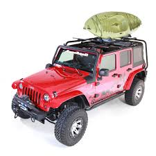 pink jeep liberty rugged ridge sherpa roof rack jk 4 doors 11703 02