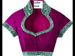 high neck with collar blouses designs for women wear youtube