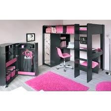 lits mezzanine avec bureau chambre fille lit mezzanine lit mezzanine fille avec bureau