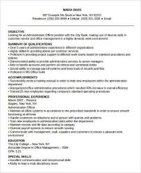 resume templates for administrative officers exams results portal administrative resume exles best administrative assistant