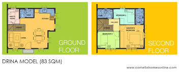 camella homes drina floor plan camella homes camella belize drina house and lot for sale